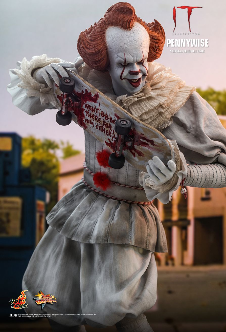 NEW PRODUCT: HOT TOYS: IT CHAPTER TWO PENNYWISE 1/6TH SCALE COLLECTIBLE FIGURE 3296
