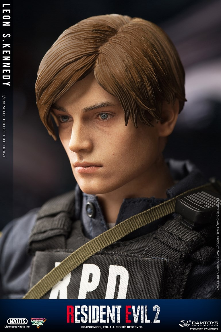 "Sci-Fi - NEW PRODUCT: NAUTS & DAMTOYS: 1/6 ""Resident Evil 2""-LEON S.KENNEDY/Lyon S. Kennedy remake #DMS030  32e78b10"