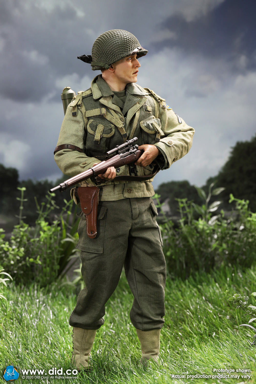 DiD - NEW PRODUCT: DiD: A80144 WWII US 2nd Ranger Battalion Series 4 Private Jackson 33103