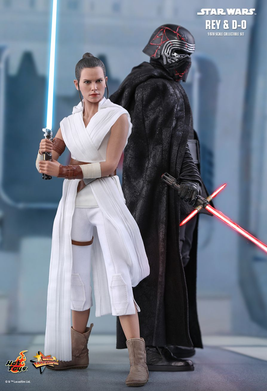 Rey - NEW PRODUCT: HOT TOYS: STAR WARS: THE RISE OF SKYWALKER REY AND D-O 1/6TH SCALE COLLECTIBLE FIGURE 3319