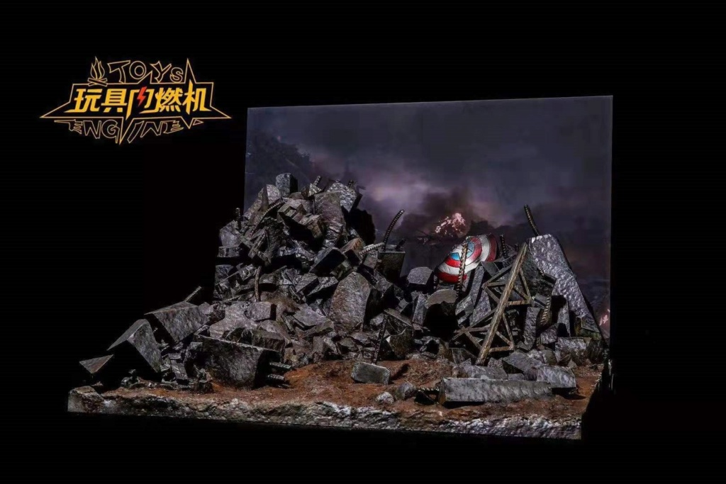 diorama - NEW PRODUCT: Toys Engine : Avengers Endgame Dynamic Stand Final Battle Scene 3320