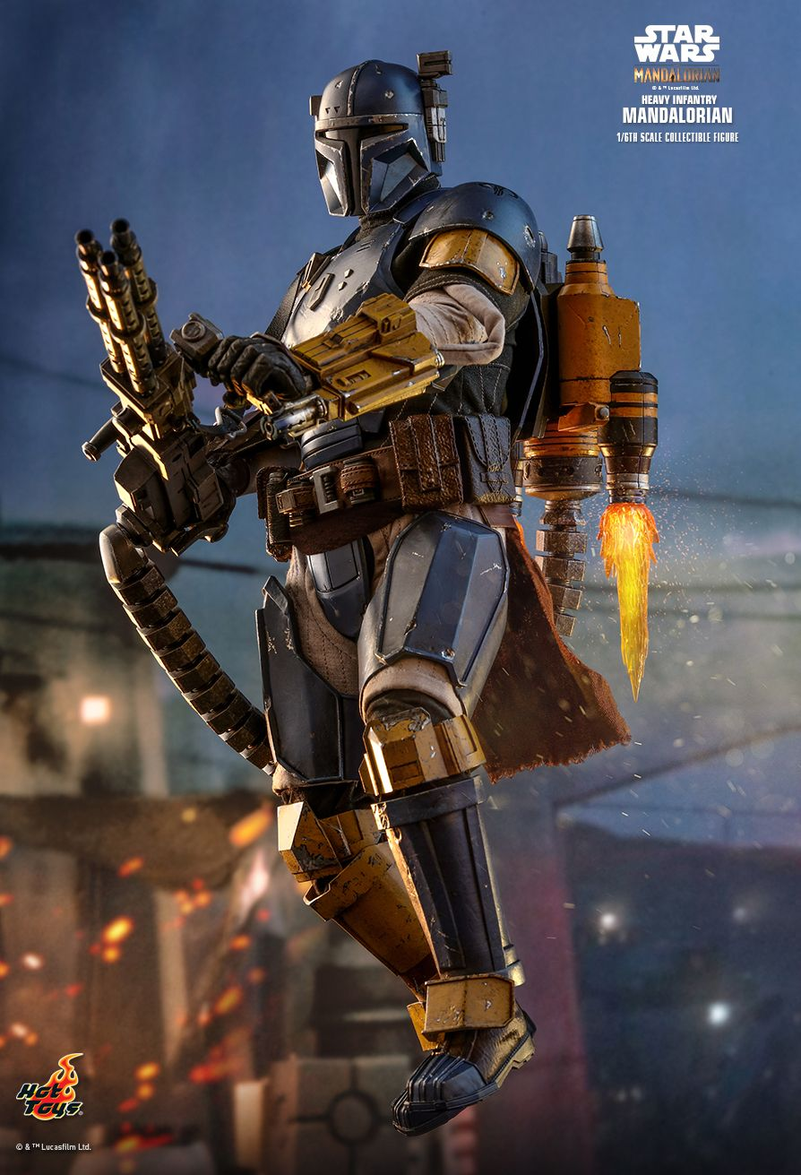 sci-fi - NEW PRODUCT: HOT TOYS: THE MANDALORIAN: HEAVY INFANTRY MANDALORIAN 1/6TH SCALE COLLECTIBLE FIGURE 3325