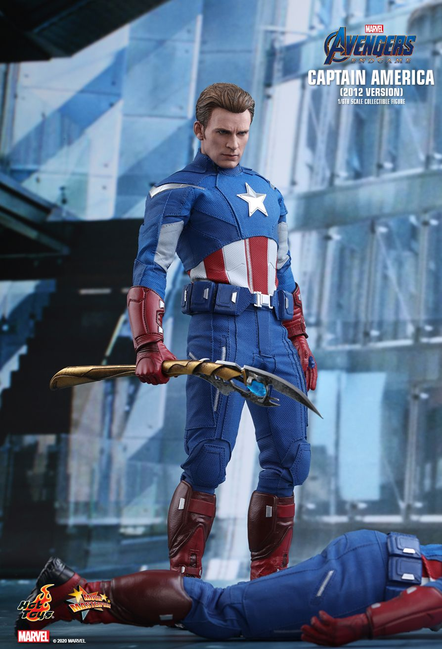 movie - NEW PRODUCT: HOT TOYS: AVENGERS: ENDGAME CAPTAIN AMERICA (2012 VERSION) 1/6TH SCALE COLLECTIBLE FIGURE 3333