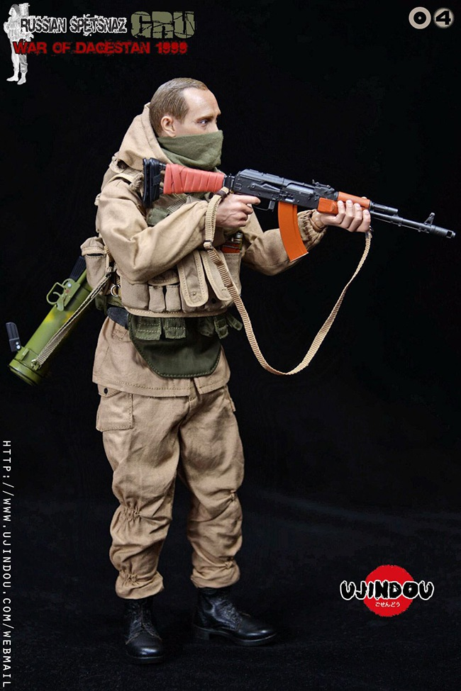 UJINDOU -  NEW PRODUCT: UJINDOU: 1/6 Russian Special Forces-Dagestan War 1999 #UD9004 [Update and update] 3354db10