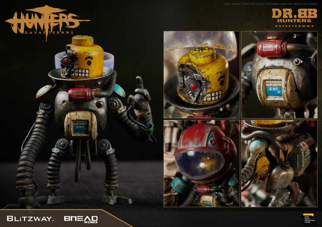 Robot - NEW PRODUCT: Blitzway: 1/6 scale HUNTERS : Day After WWlll: Dr.BB Action Figure 3359