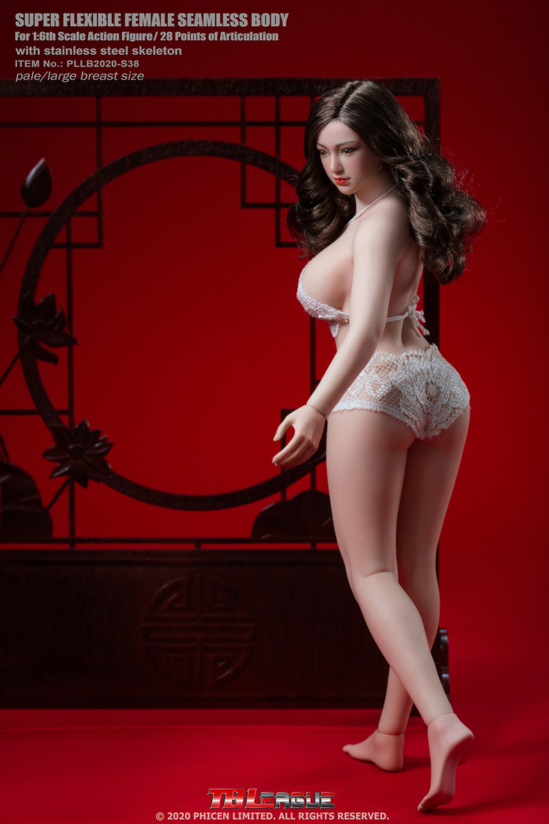 "body - NEW PRODUCT: TBLeague: 1/6 scale ""Chubby"" Female Body (2 styles, with or without a head sculpt) 3361"