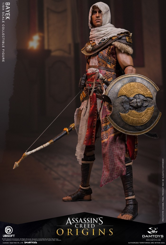 male - NEW PRODUCT: 1/6 DamToys Assassin's Creed Origins - Bayek 1/6 scale figure 3374