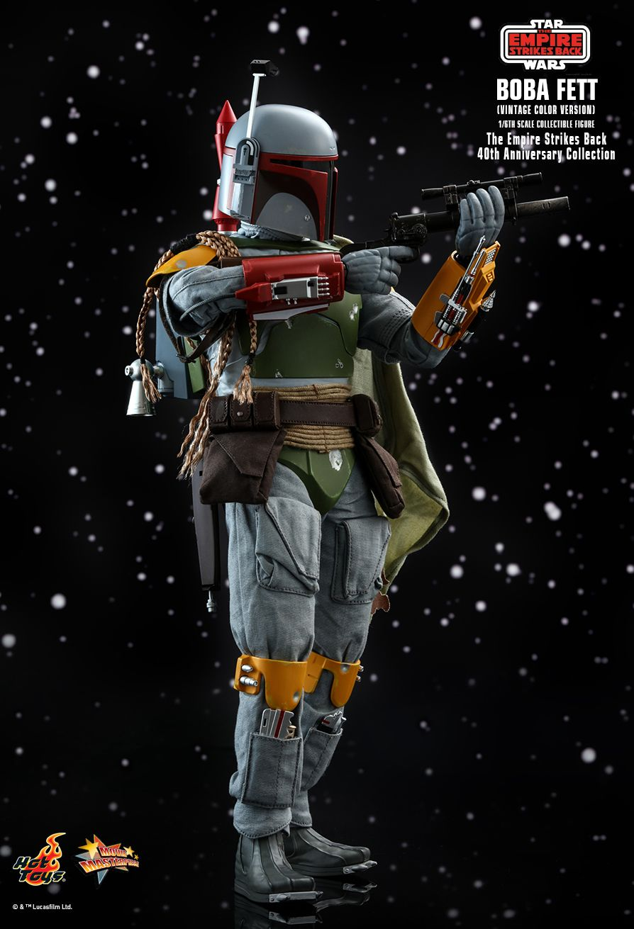 sci-fi - NEW PRODUCT: HOT TOYS: STAR WARS: THE EMPIRE STRIKES BACK™ BOBA FETT™ (VINTAGE COLOR VERSION) (40TH ANNIVERSARY COLLECTION) 1/6TH SCALE COLLECTIBLE FIGURE 3378