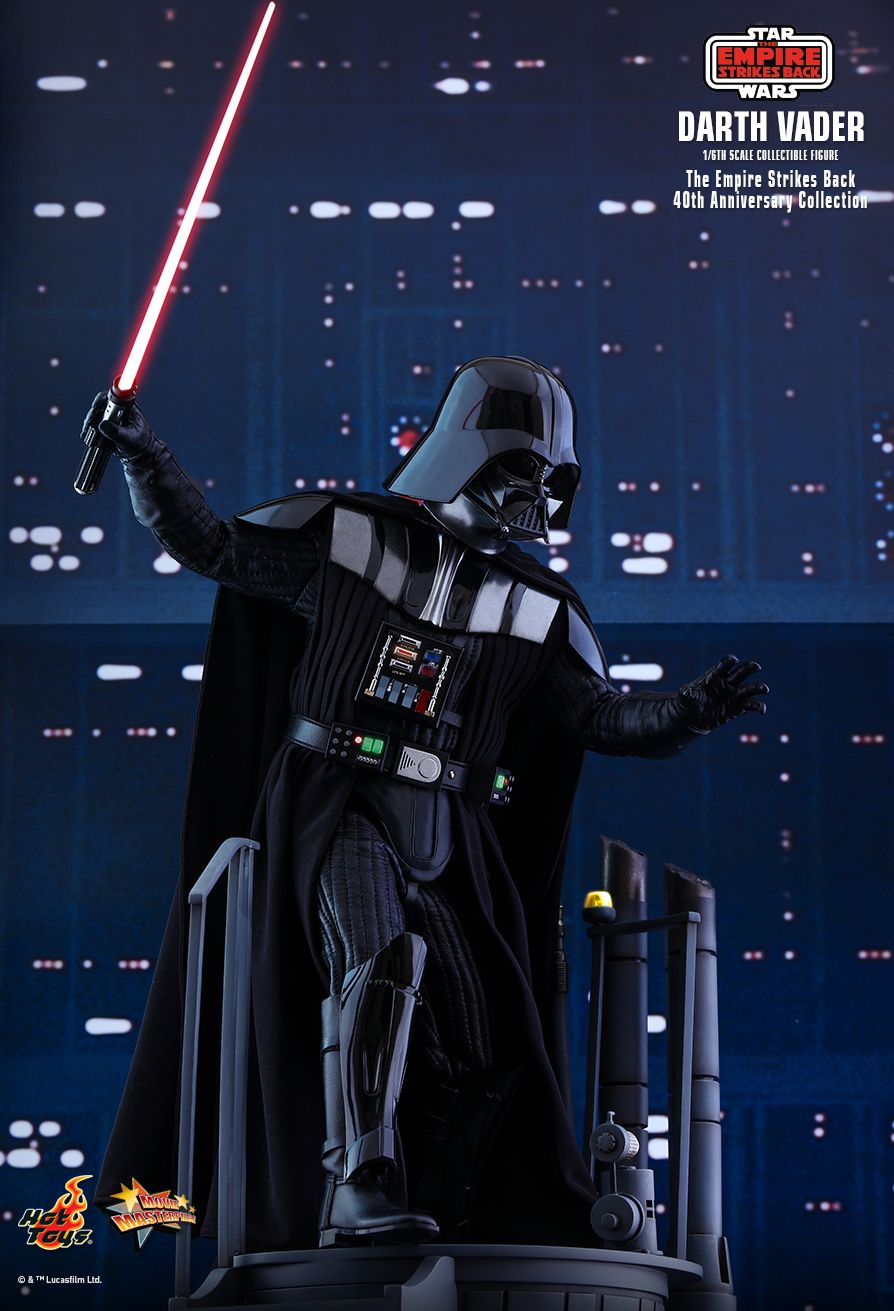 StarWars - NEW PRODUCT: HOT TOYS: STAR WARS: THE EMPIRE STRIKES BACK™ DARTH VADER™ (40TH ANNIVERSARY COLLECTION) 1/6TH SCALE COLLECTIBLE FIGURE 3379