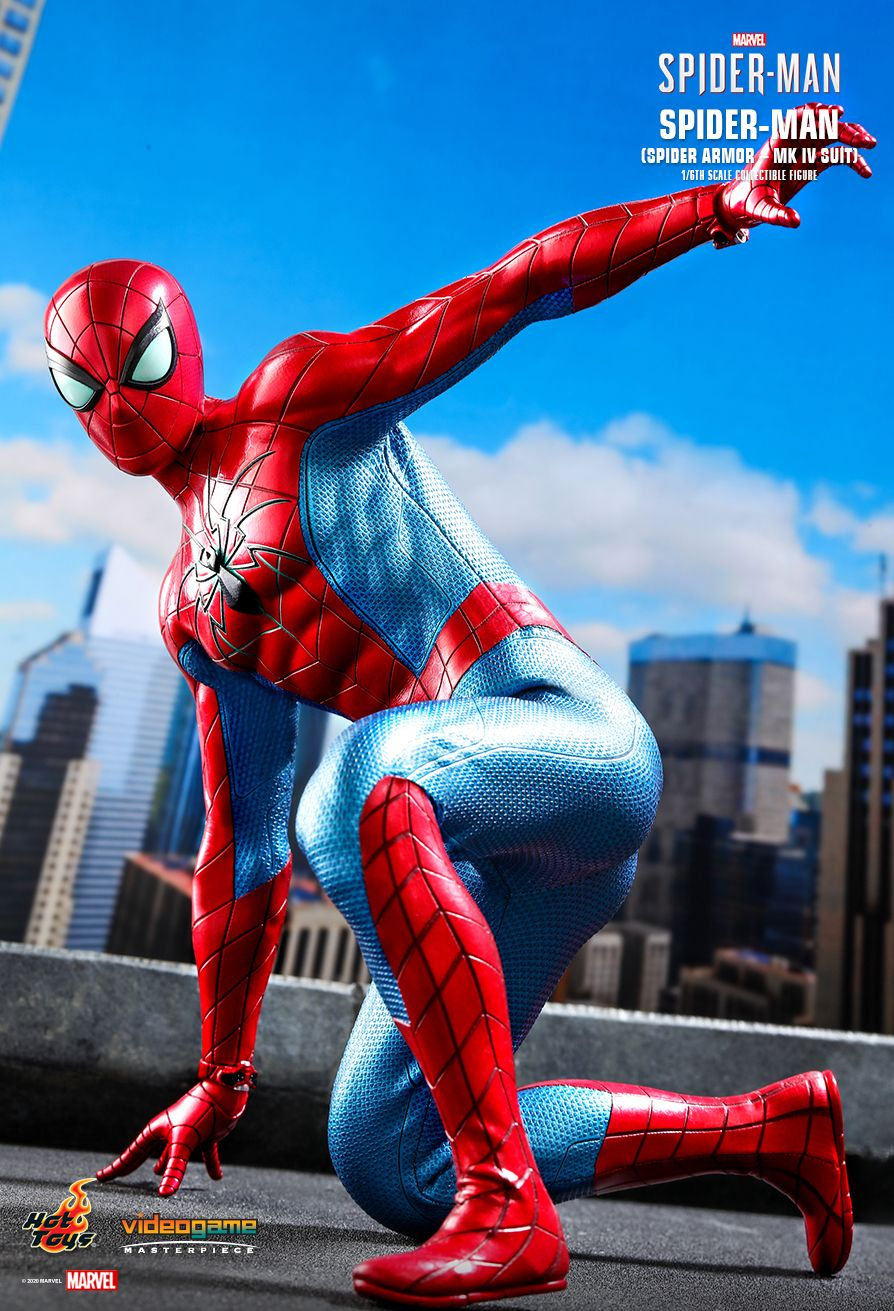 videogame - NEW PRODUCT: HOT TOYS: SPIDER-MAN (SPIDER ARMOR - MK IV SUIT) MARVEL'S SPIDER-MAN 1/6TH SCALE COLLECTIBLE FIGURE 3395
