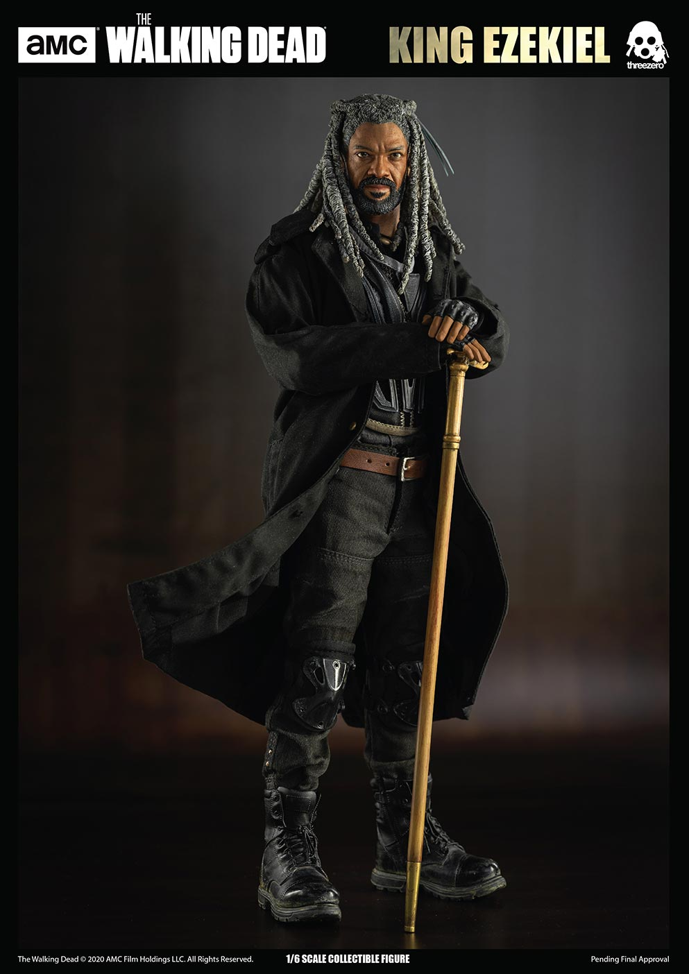 walkingdead - NEW PRODUCT: Threezero: The Walking Dead – 1/6 King Ezekiel 3408