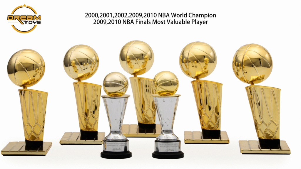 NEW PRODUCT: DREAMTOYS New: 1/6 MJ23 KB24 Jordan / Kobe - Honor Trophy Set 341
