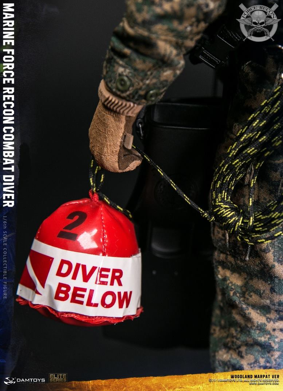 DamToys - NEW PRODUCT: DAM Toys: Marine Force Recon Combat Diver (Desert MARPAT) (GIDAM-78056) & (Woodland MARPAT) (GIDAM-78055) 3413