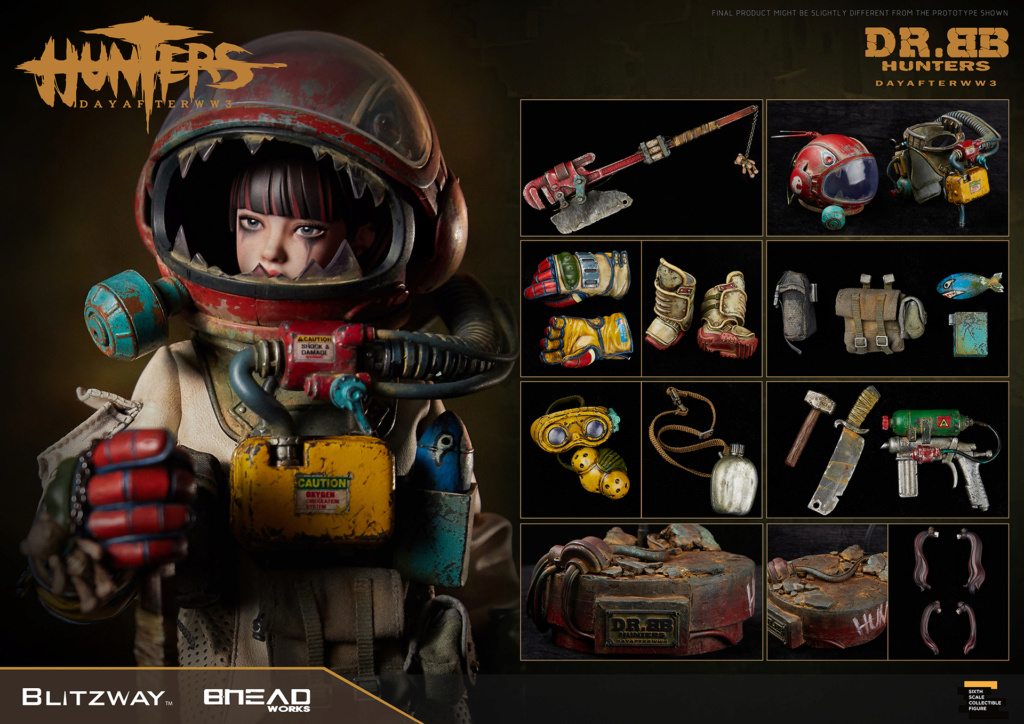 Robot - NEW PRODUCT: Blitzway: 1/6 scale HUNTERS : Day After WWlll: Dr.BB Action Figure 3418