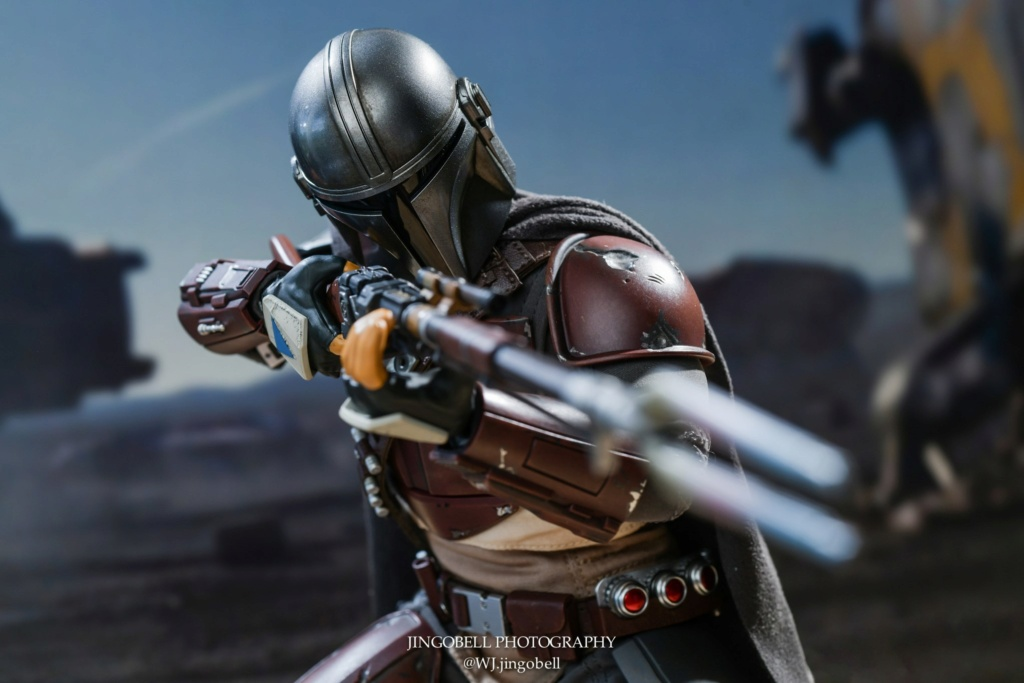 NEW PRODUCT: HOT TOYS: THE MANDALORIAN -- THE MANDALORIAN 1/6TH SCALE COLLECTIBLE FIGURE 3424