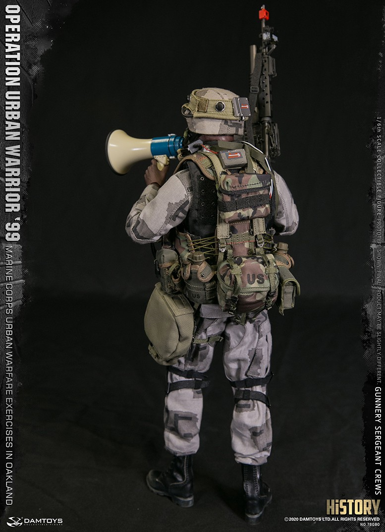 modernmilitary - NEW PRODUCT: DAMTOYS: 1/6 '99 City Warriors Operation-Marine Corps Oakland City Battle Exercise-Gunner Sergeant Cruise #78080 3431