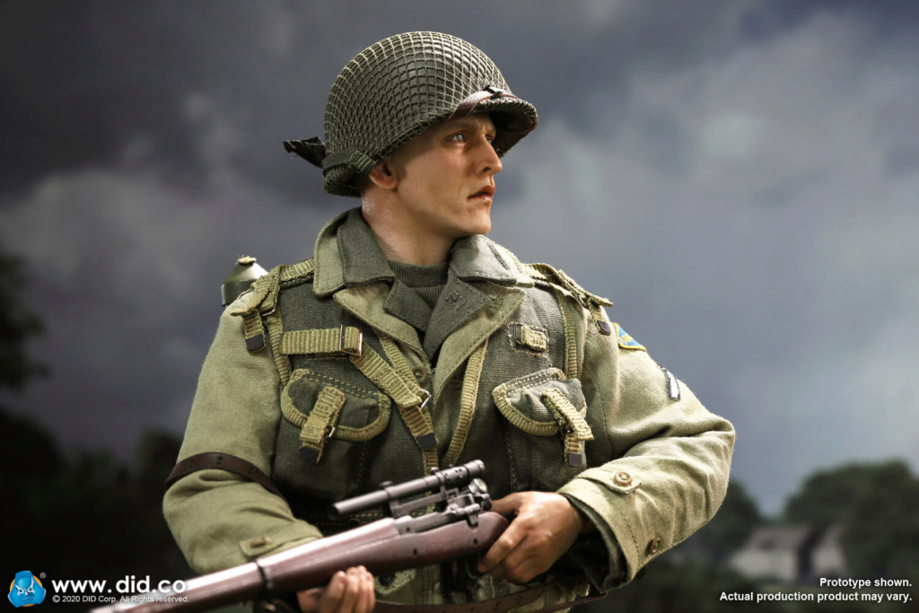 DiD - NEW PRODUCT: DiD: A80144 WWII US 2nd Ranger Battalion Series 4 Private Jackson 3459