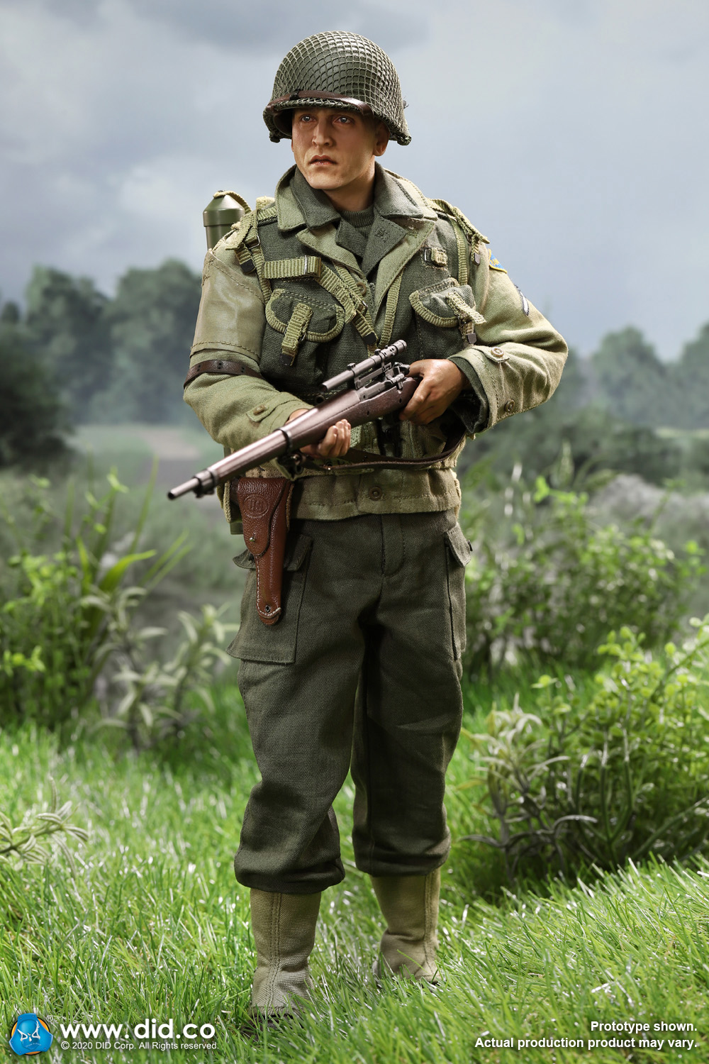 DiD - NEW PRODUCT: DiD: A80144 WWII US 2nd Ranger Battalion Series 4 Private Jackson 3460