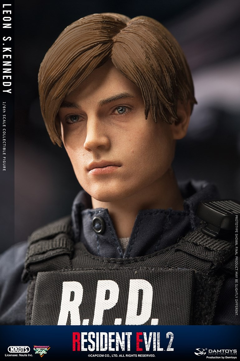 "Sci-Fi - NEW PRODUCT: NAUTS & DAMTOYS: 1/6 ""Resident Evil 2""-LEON S.KENNEDY/Lyon S. Kennedy remake #DMS030  34f90210"