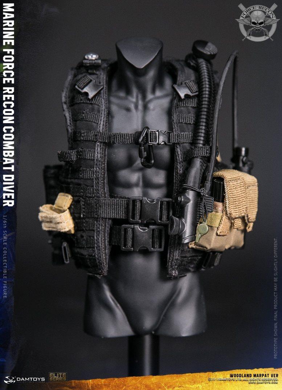 DamToys - NEW PRODUCT: DAM Toys: Marine Force Recon Combat Diver (Desert MARPAT) (GIDAM-78056) & (Woodland MARPAT) (GIDAM-78055) 3513