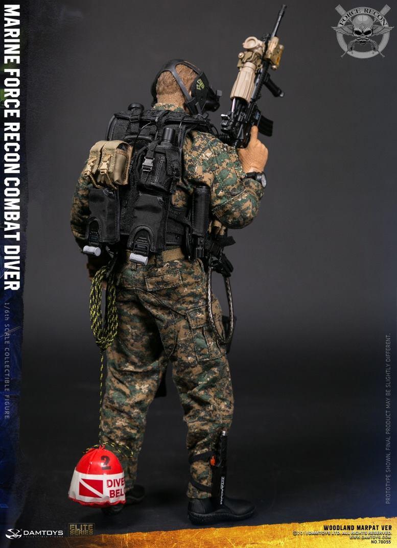 DamToys - NEW PRODUCT: DAM Toys: Marine Force Recon Combat Diver (Desert MARPAT) (GIDAM-78056) & (Woodland MARPAT) (GIDAM-78055) 353