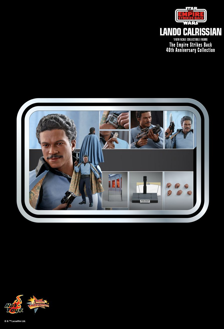 movie - NEW PRODUCT: HOT TOYS: STAR WARS: THE EMPIRE STRIKES BACK™ LANDO CALRISSIAN™ (STAR WARS: THE EMPIRE STRIKES BACK 40TH ANNIVERSARY COLLECTION) 1/6TH SCALE COLLECTIBLE FIGURE 35caf010