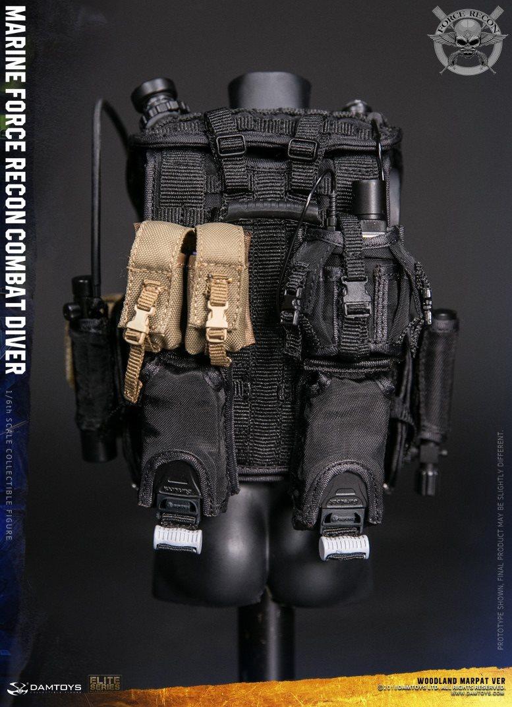 DamToys - NEW PRODUCT: DAM Toys: Marine Force Recon Combat Diver (Desert MARPAT) (GIDAM-78056) & (Woodland MARPAT) (GIDAM-78055) 3613