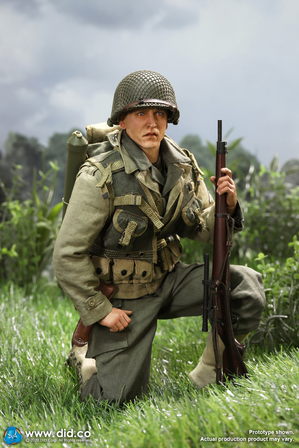 DiD - NEW PRODUCT: DiD: A80144 WWII US 2nd Ranger Battalion Series 4 Private Jackson 3621