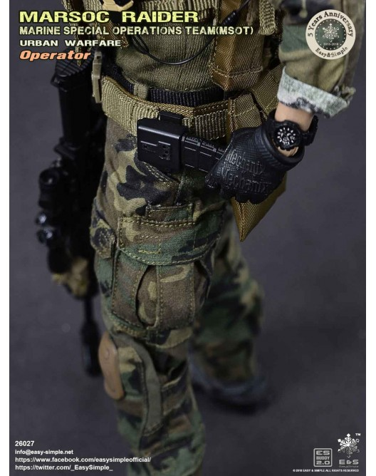 NEW PRODUCT: Easy & Simple 26027 1/6 Scale MARSOC Raider Urban Warfare Operator 37-52810