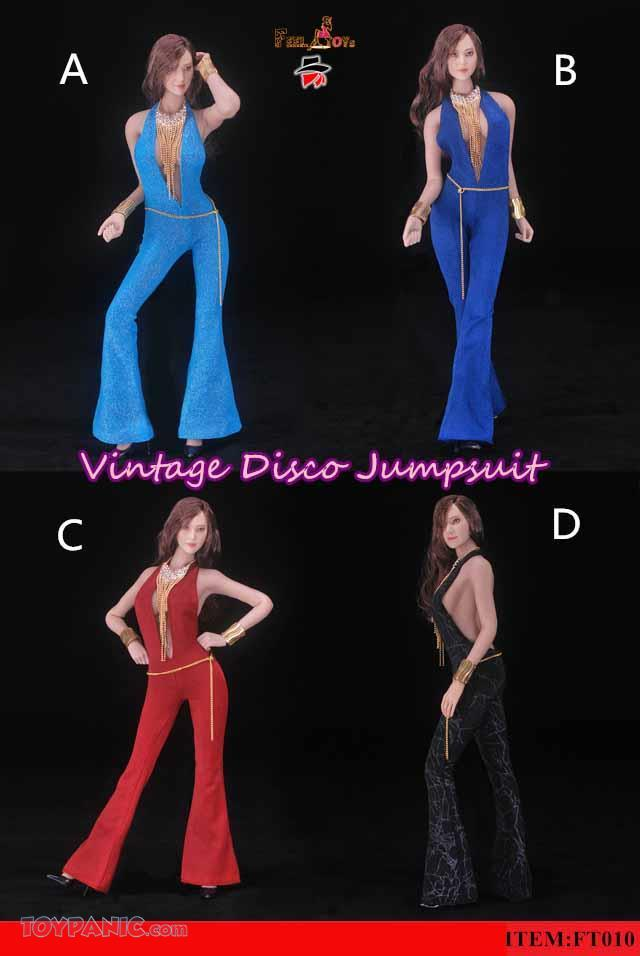 clothes - NEW PRODUCT: FeelToys: 1/6 Desperado Vintage Disco Jumpsuit (4 colors) FT010 37201910