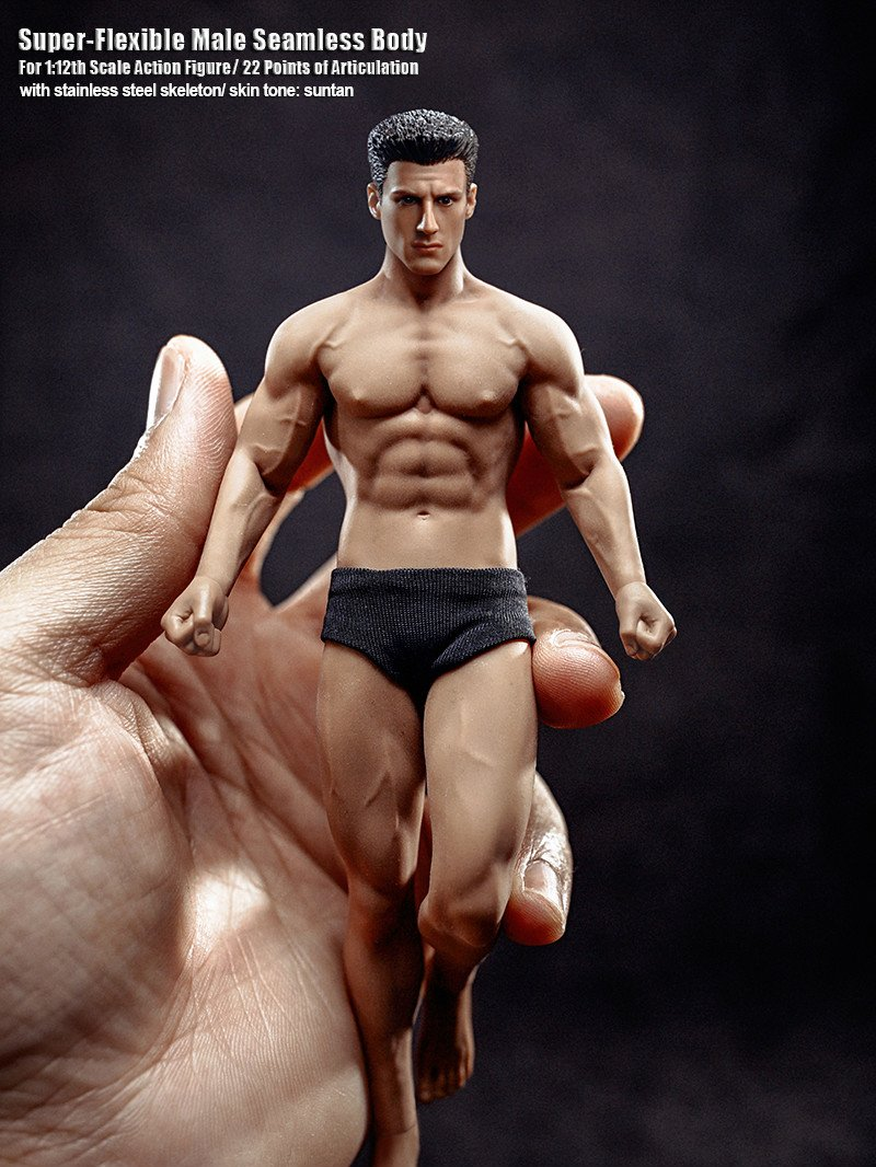 NEW PRODUCT: TBLeague: 1/12 Male Body PH2019-TM01A B 6IN Action Figure F SHFiguart #Suntan 37659a10