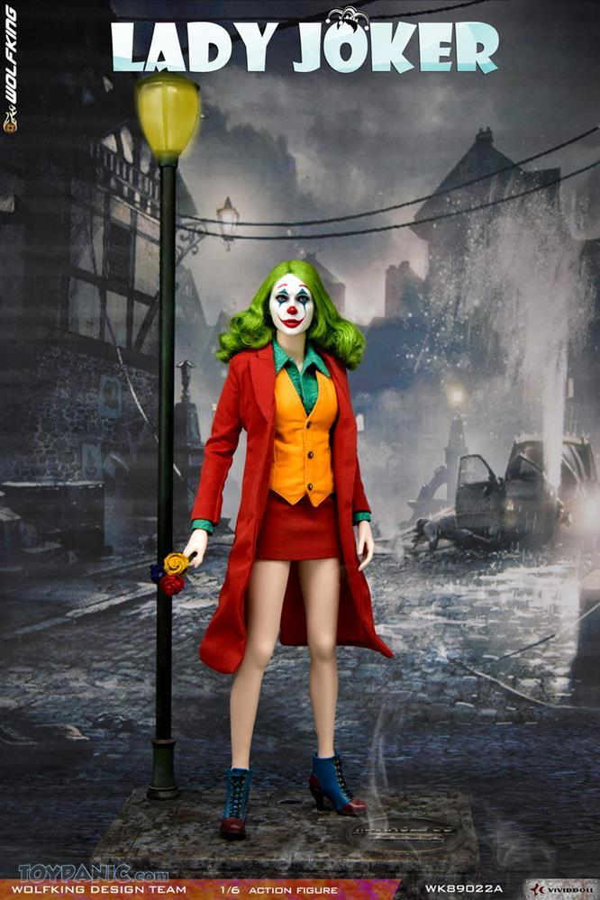 Wolfking - NEW PRODUCT: Wolfking: 1/6 scale Female Joker figure (Standard and Deluxe Editions) 38088510