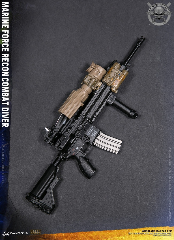 DamToys - NEW PRODUCT: DAM Toys: Marine Force Recon Combat Diver (Desert MARPAT) (GIDAM-78056) & (Woodland MARPAT) (GIDAM-78055) 3811