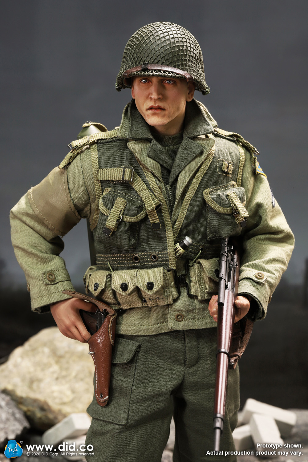 DiD - NEW PRODUCT: DiD: A80144 WWII US 2nd Ranger Battalion Series 4 Private Jackson 3819