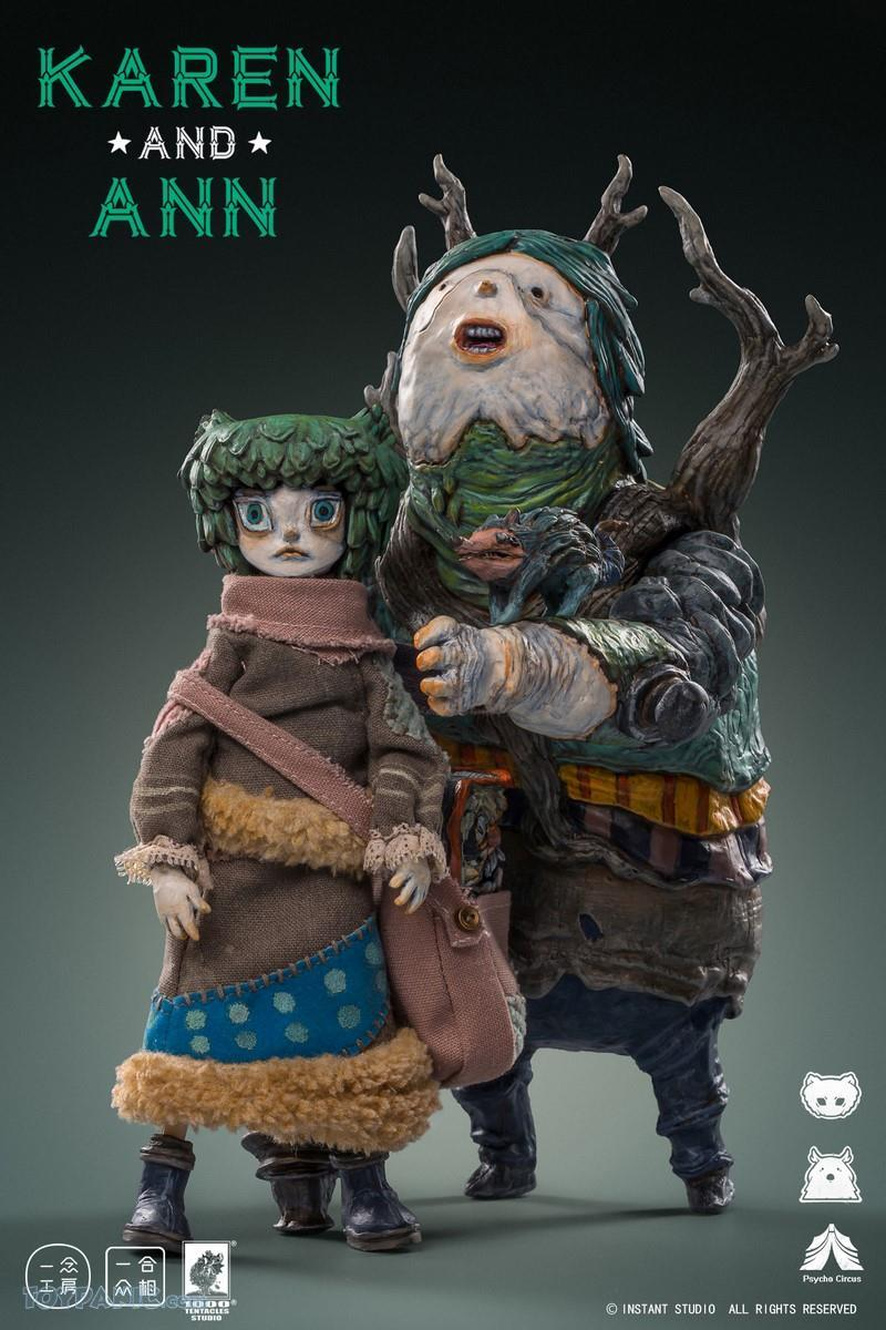 YiNianStudioWorks - NEW PRODUCT: YiNian Studio Works: 1/6 scale Psycho Circus - Karen and Ann (MXT001) 38201912