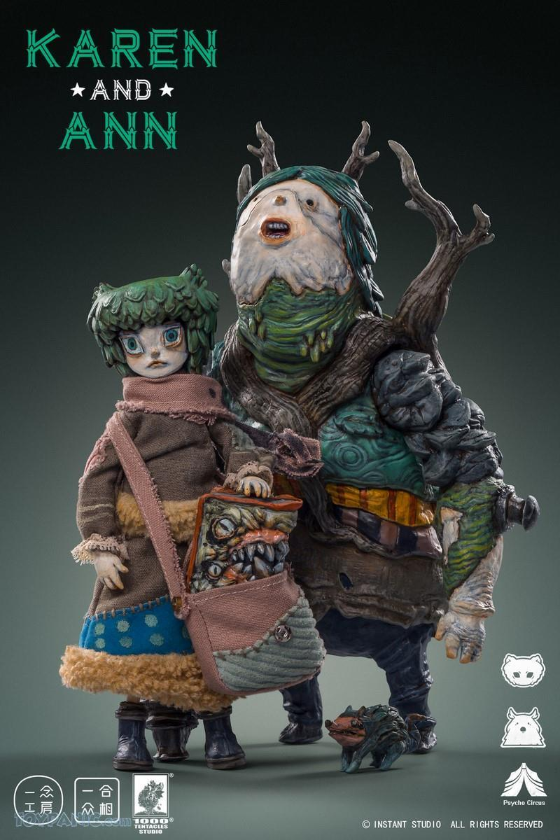 YiNianStudioWorks - NEW PRODUCT: YiNian Studio Works: 1/6 scale Psycho Circus - Karen and Ann (MXT001) 38201913