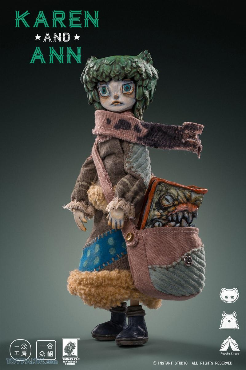 PscyhoCircus - NEW PRODUCT: YiNian Studio Works: 1/6 scale Psycho Circus - Karen and Ann (MXT001) 38201920