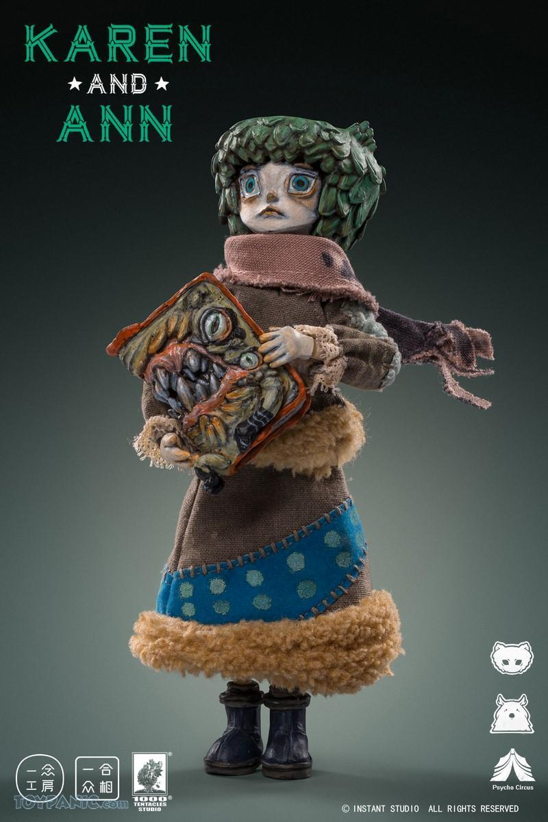 PscyhoCircus - NEW PRODUCT: YiNian Studio Works: 1/6 scale Psycho Circus - Karen and Ann (MXT001) 38201921