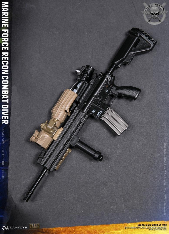 DamToys - NEW PRODUCT: DAM Toys: Marine Force Recon Combat Diver (Desert MARPAT) (GIDAM-78056) & (Woodland MARPAT) (GIDAM-78055) 3911