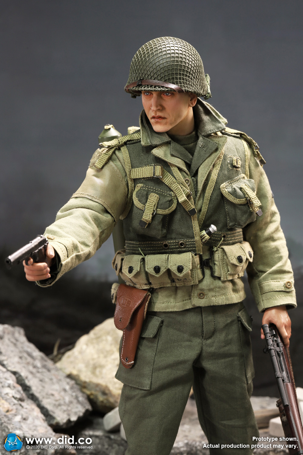 DiD - NEW PRODUCT: DiD: A80144 WWII US 2nd Ranger Battalion Series 4 Private Jackson 3919