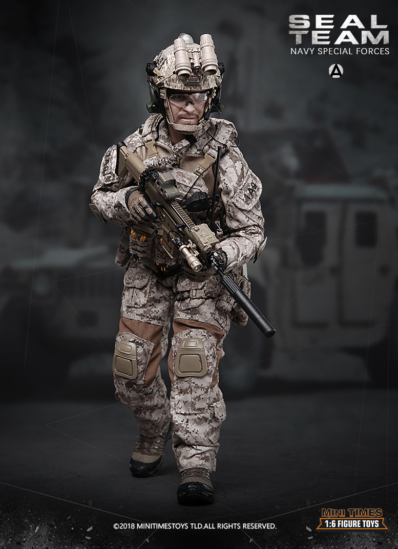 minitimes - NEW PRODUCT: MINI TIMES TOYS US NAVY SEAL TEAM SPECIAL FORCES 1/6 SCALE ACTION FIGURE MT-M012 397