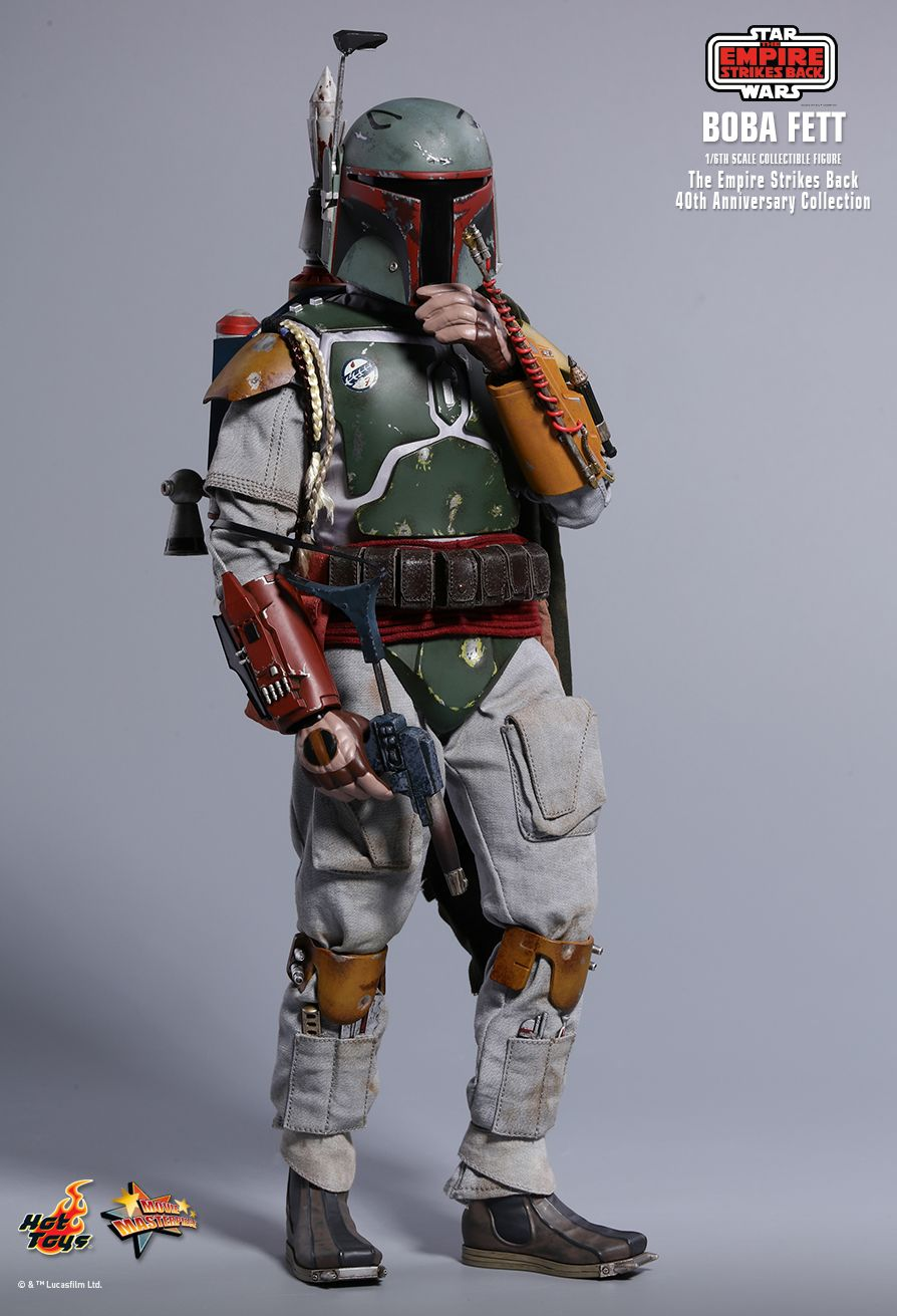 empirestrikesback - NEW PRODUCT: HOT TOYS: STAR WARS: THE EMPIRE STRIKES BACK™ BOBA FETT™ (STAR WARS: THE EMPIRE STRIKES BACK 40TH ANNIVERSARY COLLECTION) 1/6TH SCALE COLLECTIBLE FIGURE 3ae45c10