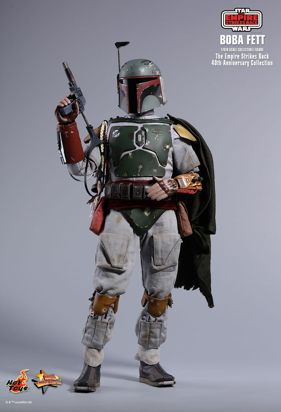 empirestrikesback - NEW PRODUCT: HOT TOYS: STAR WARS: THE EMPIRE STRIKES BACK™ BOBA FETT™ (STAR WARS: THE EMPIRE STRIKES BACK 40TH ANNIVERSARY COLLECTION) 1/6TH SCALE COLLECTIBLE FIGURE 3ff5c310
