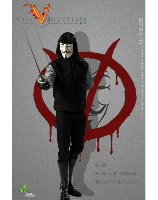 ToysPower - NEW PRODUCT: Toyspower CT013 1/6 Scale V for VENDETTA 2.0 4-1-5210