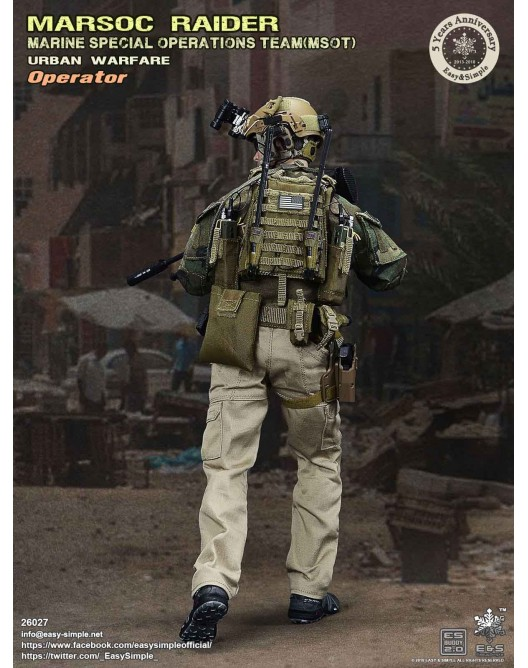 NEW PRODUCT: Easy & Simple 26027 1/6 Scale MARSOC Raider Urban Warfare Operator 4-528x10