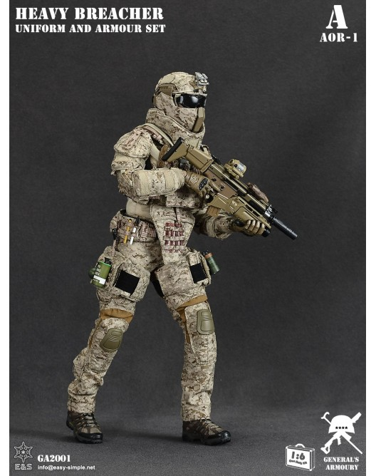 General - NEW PRODUCT: General's Armoury GA2001 1/6 Scale Heavy Breacher Uniform and Armour Set 4-528x11