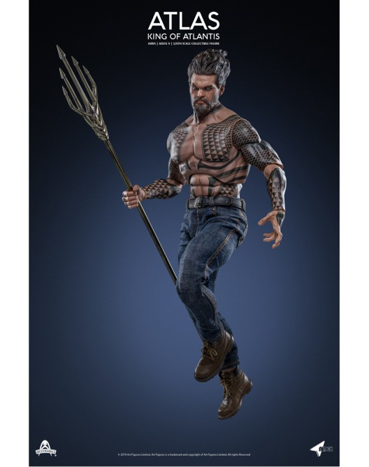 NEW PRODUCT: Art Figure AI-005 1/6 Scale King of Atlantis ATLAS 4-528x21
