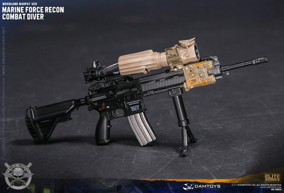 DamToys - NEW PRODUCT: DAM Toys: Marine Force Recon Combat Diver (Desert MARPAT) (GIDAM-78056) & (Woodland MARPAT) (GIDAM-78055) 4011