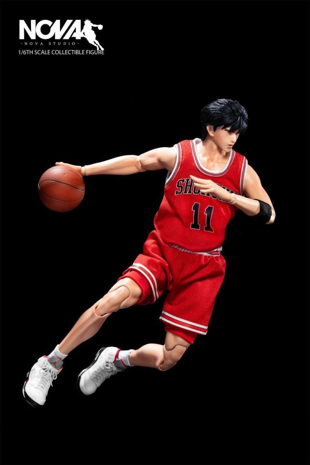 basketball - NEW PRODUCT: 1/6 Scale NOVA Studio Player No. 11 Rukawa Slamdunk スラムダンク流川楓 411