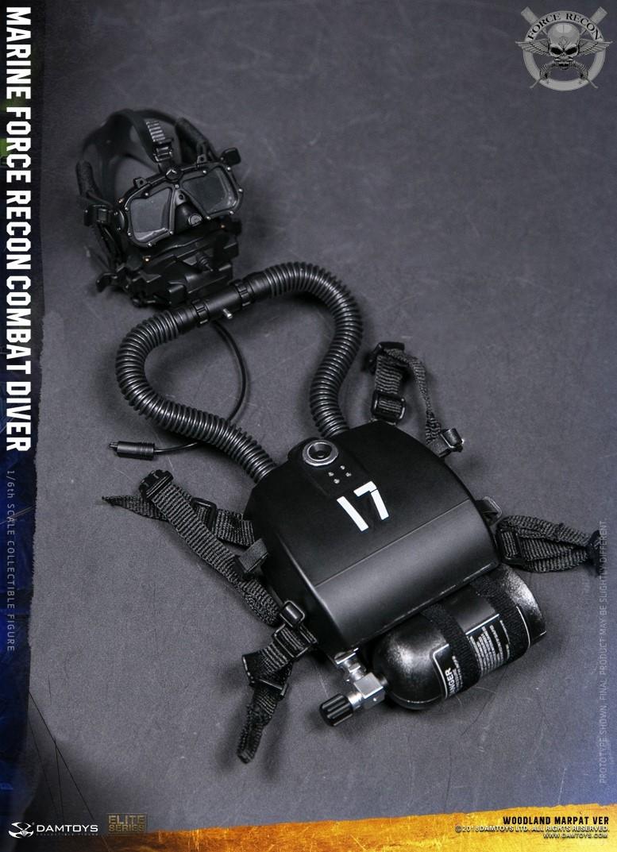 DamToys - NEW PRODUCT: DAM Toys: Marine Force Recon Combat Diver (Desert MARPAT) (GIDAM-78056) & (Woodland MARPAT) (GIDAM-78055) 4111